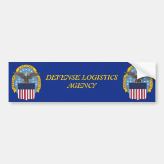 U.S. Defense Logistics Agency Car Bumper Sticker