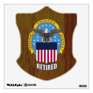 U.S. Defense Logistics Agency Retired Wall Sticker