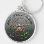 U.S. Departamento de Defensa Llaveros Personalizados