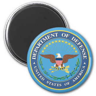 U.S. Department of Defense Refrigerator Magnets