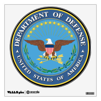 U.S. Department of Defense Wall Decal