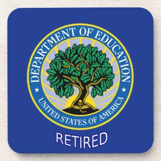 U.S. Department of Education Beverage Coaster