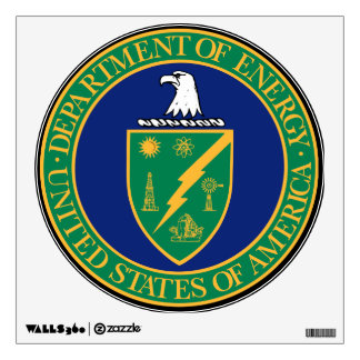 U.S. Department of Energy Wall Decal