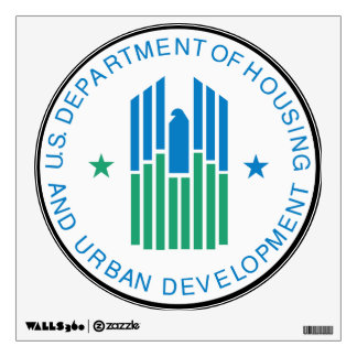 U S Department of Housing Wall Decal