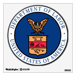 U.S. Department of Labor Wall Decal