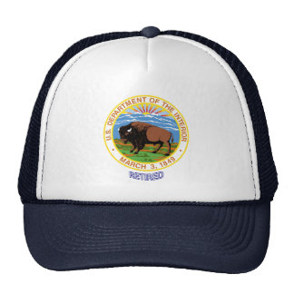 U.S. Department Of The Interior Retired Trucker Hat