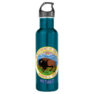U.S. Department Of The Interior Retired Water Bottle