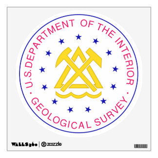 U.S. Department of The Interior Wall Decal
