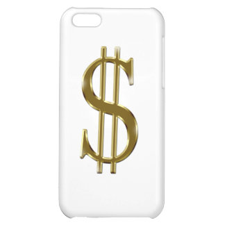 $ U.S.dollar sign gold iPhone 5C Covers