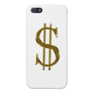 $ U.S.dollar sign gold iPhone SE/5/5s Cover