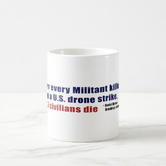 U.S. Drone Strike Militant Civilian Kill Ratio Coffee Mug