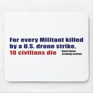 U.S. Drone Strike Militant Civilian Kill Ratio Mouse Pad