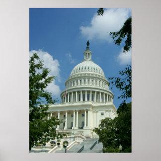 U.S. Edificio del capitolio Posters