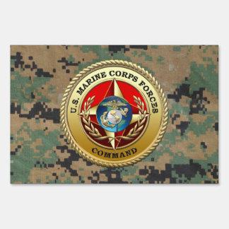 U.S. El Cuerpo del Marines fuerza el comando Carteles