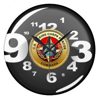 U.S. El Cuerpo del Marines fuerza el comando (MARF Reloj Redondo Grande