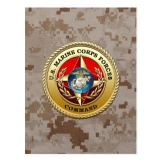 U S El Cuerpo del Marines fuerza el comando MARF Postal
