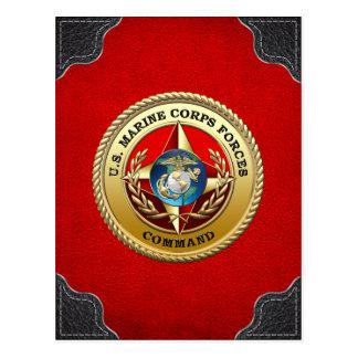 U S El Cuerpo del Marines fuerza el comando MARF Postales