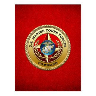 U S El Cuerpo del Marines fuerza el comando MARF Tarjeta Postal
