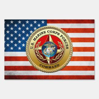 U.S. El Cuerpo del Marines fuerza el comando Señal