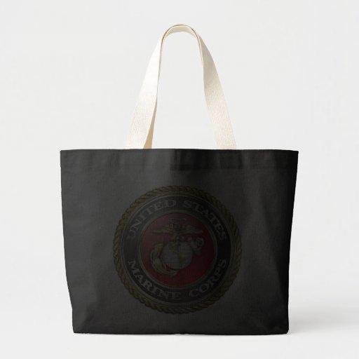 U.S. El Cuerpo del Marines (USMC) simboliza [3D] Bolsas De Mano