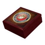 U.S. El Cuerpo del Marines (USMC) simboliza [3D] Caja De Joyas
