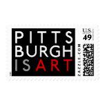 U.S. El servicio postal Pittsburgh es sellos del a