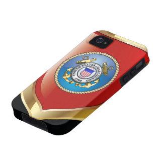 U.S. Emblema del guardacostas iPhone 4 Fundas