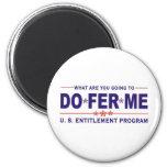U. S. entitlement program Refrigerator Magnet