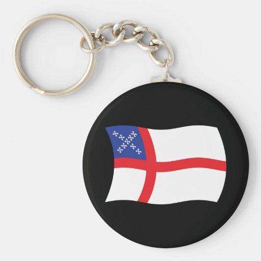 U.S. Episcopal Church Flag Keychain