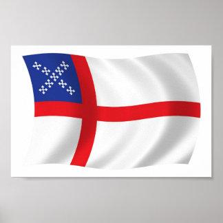U.S. Episcopal Church Flag Poster Print