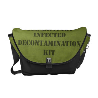 U.S. Equipo militar de la descontaminación del zom Bolsas De Mensajeria