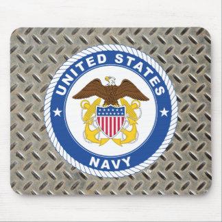 U.S. Escudo del oficial de la marina de guerra el Tapete De Ratones