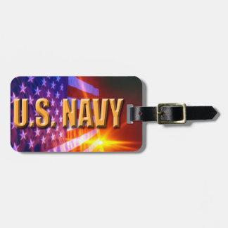 U.S. Etiqueta del equipaje de la marina de guerra Etiquetas Bolsa