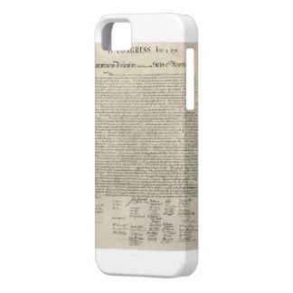 U.S. Facsímil de la Declaración de Independencia Funda Para iPhone SE/5/5s