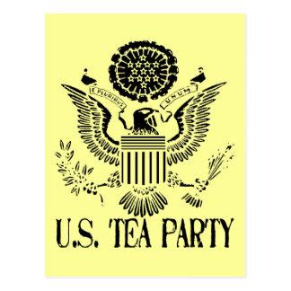 U.S. Fiesta del té Tarjeta Postal