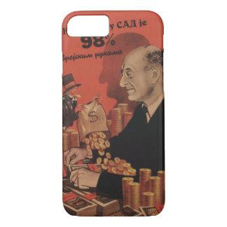U.S. financial world Propaganda Poster iPhone 8/7 Case