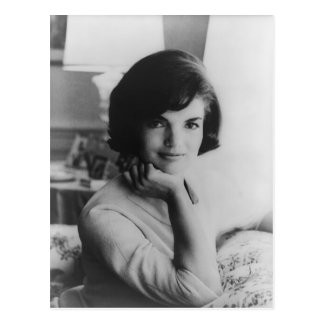 U.S. First Lady Jacqueline Kennedy Portrait Postcard