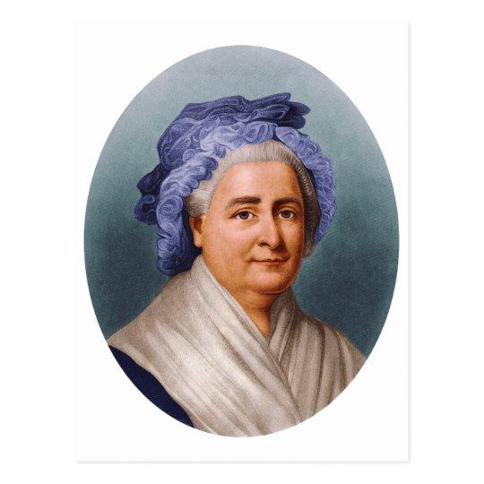 U.S. First Lady Martha Dandridge Custis Washington Postcard