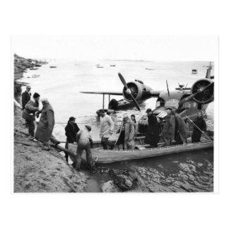 U.S. Fish and Wildlife Service Arriving on Nunivak Postcard