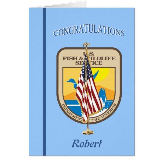 U.S. Fish and Wildlife Service Retirement Card