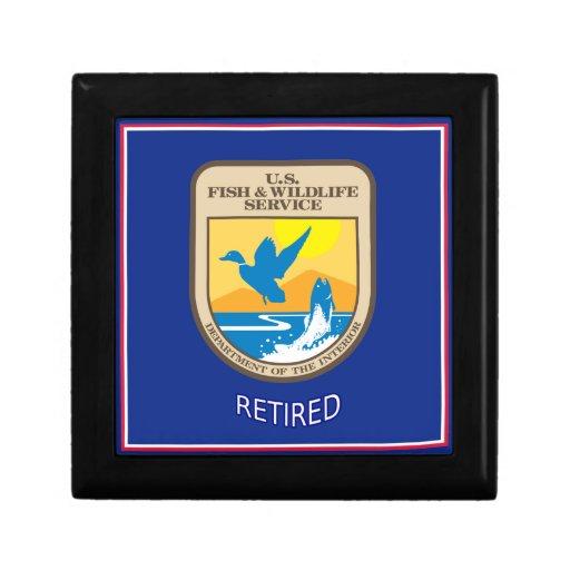 U.S. Fish & Wildlife Service Retired Gift Boxes