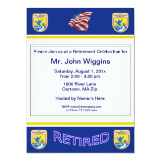U.S. Fish & Wildlife Service Retirement Invitation