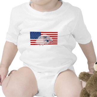 U.S. Flag & American Bald Eagle Shirt