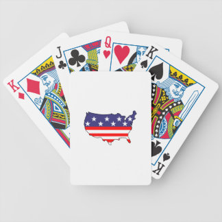U. S. Flag Bicycle Playing Cards