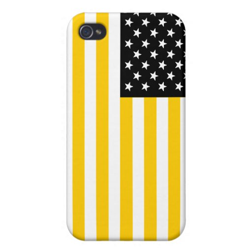 U.S. Flag Covers For iPhone 4