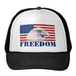 U.S. Flag & Eagle FREEDOM Hat