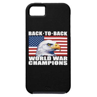 U.S. Flag & Eagle World War Champions iPhone 5 Cases