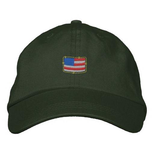 U S Flag Baseball Cap