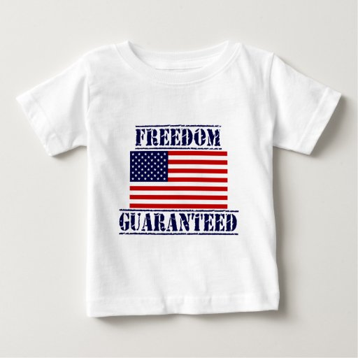 U.S. Flag FREEDOM GUARANTEED Shirt