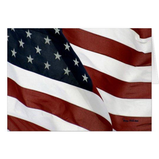 U.S. Flag Greeting Card